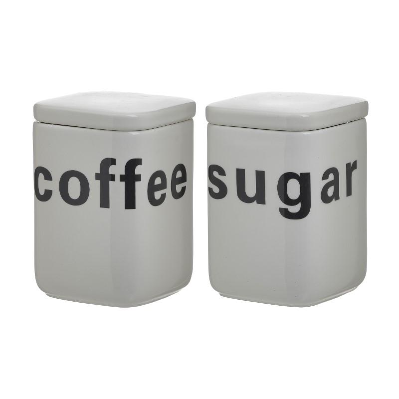 Σετ Δοχείο Καφέ/Ζάχαρης